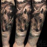 Desert Horse Dream Sleeve | Best tattoo ideas & designs