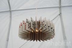 The Ace of Spades lamp