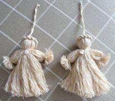 Ange de Noël en laine : le tuto en images