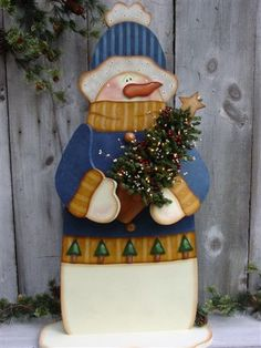 Decorative Woodcraft & Tole Painting Pattern Packets by Heidi Markish Designs. Find out more by going to the photo web link. Christmas Wood Crafts, Snowman Crafts, Noel Christmas, Handmade Christmas, Christmas Decorations, Christmas Ornaments, Painted Wood Crafts, Tole Painting Patterns, Wood Patterns