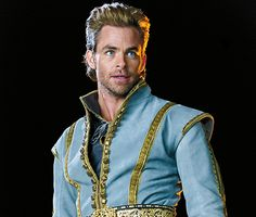 Chris Pine,Into the Woods - Chris Pine  as prince #chrispine #intothewoods