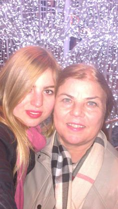 my cute sister and mother ,,