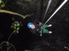 caving at New Zealand