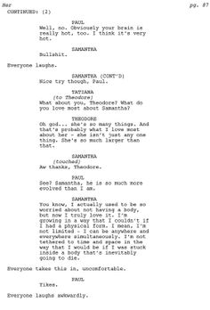 Toughest Scene I Wrote: Spike Jonze on Her -- Vulture