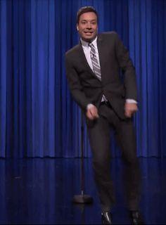 Jimmy Fallon's go the moves.