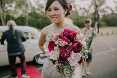 Bridal bouquet, Melbourne Florist, Wedding bouquet, loose bouquet.