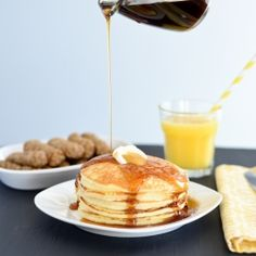 Best Ever Gluten-Free Pancakes. Light, fluffy and tender. These will melt in your mouth!