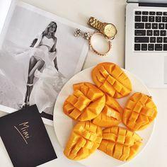 Work mode + snack mode  Mangoes | Healthy | Mimi Ikonn