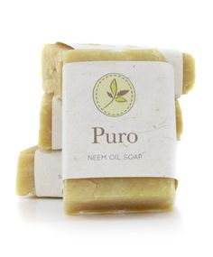 Neem Oil Soap by PuroCo on Etsy, $5.50