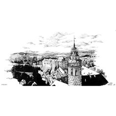 INKTOBER DAY 27  - CMoreauArt Cesky Krumlov // Czech Republic    I discovered this place seing a pic of @izaherz, and then, searching other pics of Cesky Krumlov on instagram, i found this amazing view, i had to draw it ! That's done, and now i absolutely wanna visit this town :) .  .  .  #inktober #day27 #ontime #architecture #czechrepublic #czetch #cityscape #europeancity #landscape #ceskykrumlov #drone #panorama #illustration #castle #tower #architecturesketc...