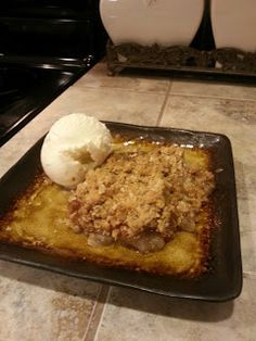 Pear Crisp, for when pears grow on my pear tree:)