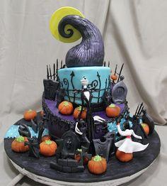 Ghoulishly Great 'Nightmare Before Christmas' Cakes - Fall Favorite