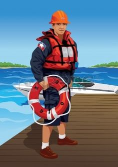 Profession set: lifeguard - Visit my gallery for more professions.