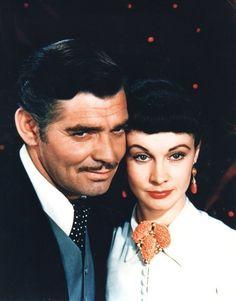 Vivien Leigh and Clark Gable - GWTW