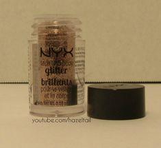 Nyx Face And Body Glitter in 08 Bronze #makeup #makeupblog #makeupblogger #cosmetics #beauty #beautyblog #beautyblogger #gold #glitter #glittermakeup #goldglitter #bronze #nyx #nyxcosmetics #nyxmakeup