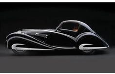 Art Deco 1920s style car