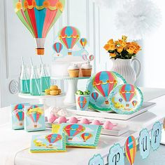 Up, Up and Away Party Supplies
