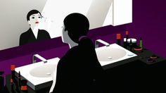 animation pour la marque japonaise Toto - Illustration - Malika Favre (France)  Animation - Nexus Productions Art Direction - Winkreative