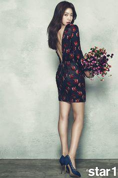 Park Shin Hye - @ Star1 Magazine November Issue '14