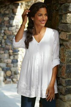 Comfortable Clothing For Women, Womens Fashions Online - Soft Surroundings - this looks beautiful and I would love it... Soft Surroundings has the best clothes...