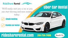 Car Rental Service For Uber & Lyft Drivers in los-Angeles - RideShare Rental Best Car Rental, Car Rental Company, Uber Car, Luxury Car Hire, Safe Journey, Taxi, Traveling By Yourself, Tourist Places, Banner Design