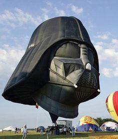 Hot air balloon. Someone's been visiting Balloon Fiesta in Albuquerque...