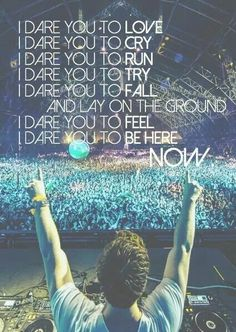 HARDWELL and Matthew Koma - dare you is a wake up call for the lost... No matter what just be truth to yourself, don't care what people think JUST BE YOU !!! #Hardwell #dare_you #live_life
