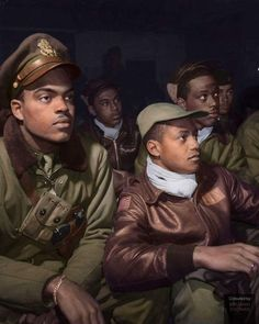 When Photographer Toni Frissell visited the Tuskegee Airmen, in March of 1945