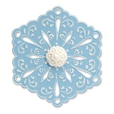 Image result for sizzix alterations  snowflake 4 die