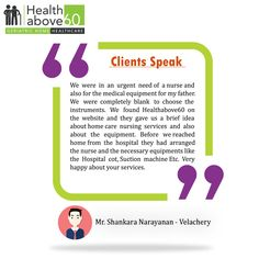 Our clients aren't just satisfied, they're delighted. #Healthabove60 #Testimonial #PositiveFeedback