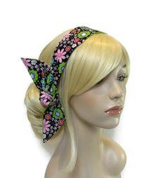 Cute Teen Headbands, Summer Headband, Fabric Headband, Womens Headbands, Colorful Headband, Hair Accessories for Women, Teen Girl Gifts by foreverandrea on Etsy