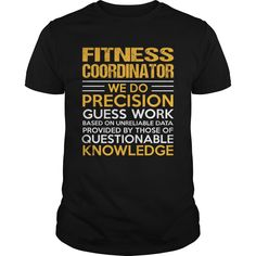 FITNESS COORDINATOR T-Shirts, Hoodies. GET IT ==► Funny Tee Shirts