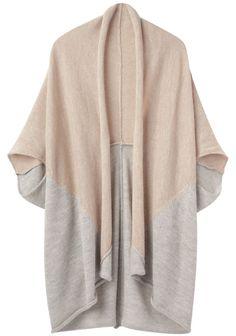 TSUMORI CHISATO | Alpaca Bi-Color Open Cardigan | Shop at La Garçonne