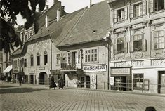 Old Photos, Vintage Photos, Budapest Hungary, Landscapes, Archive, Street View, History, Retro, Old Pictures