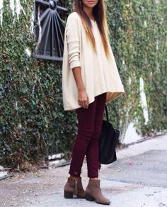 Oversize Knit + Leggings