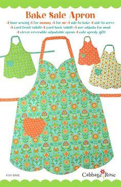Bake Sale Apron Pattern Mommy & Me