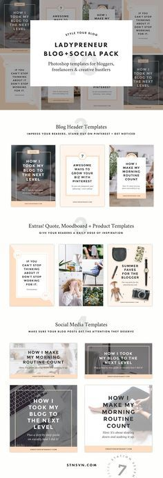 Willow Blog Pack Header, Minimalist and Template - graphic design quote template