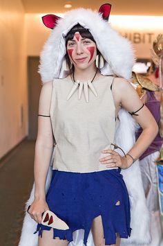 San - Princess Mononoke by @strawburry17 #Cosplay #SDCC2012 Photo by Victor Gamez