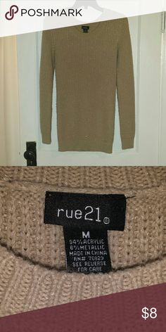 Selling this Rue 21 tan sweater on Poshmark! My username is: ashlowery14. #shopmycloset #poshmark #fashion #shopping #style #forsale #Rue 21 #Sweaters