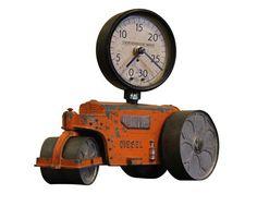 Steampunk Clock | Custom One of a Kind Clock | Hubley | Vintage Toy | Van Dusen Clockworks - $375.