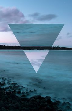 Geometric Photographs by Tyhe Reading (flipping photos around in geometric shapes) - take simple landscapes and using photoshop alter the landscape with geometric 'flips' when we get back to school