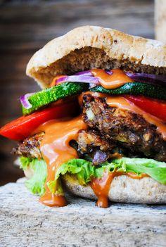 VeganSandra - tasty, cheap and easy vegan recipes by Sandra Vungi: Bean and zucchini cutlets