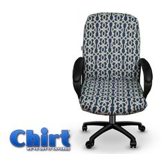 Exceptionnel The Charlotte Chirt (Chair Shirt) Custom Office Chair Cover (patent Pending)