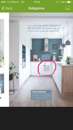 St Pauls Blue fra Jotun St Pauls Blue, Kitchen Inspiration, Kitchen Design, Loft, Furniture, Home Decor, Decoration Home, Design Of Kitchen, Room Decor
