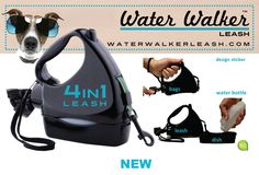 WATER WALKER LEASH - 4 IN 1