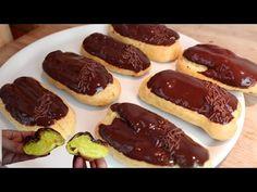 Πολύ εύκολο και με απλά υλικά! Να κάνω τώρα! # 538 - YouTube Eclairs, Family Meals, Simple, Sausage, Sweet Treats, Cookies, Biscotti, Desserts, Food