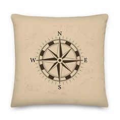 Throw Pillow Cases, Throw Pillows, Compass Tattoo, Pillow Inserts, Printing, Zipper, Products, Cushions