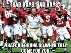 Alabama football, RTR!