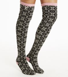 Odd Molly jacquard long sock 815M-832. Shop Odd Molly clothes online from the official Odd Molly online shop.