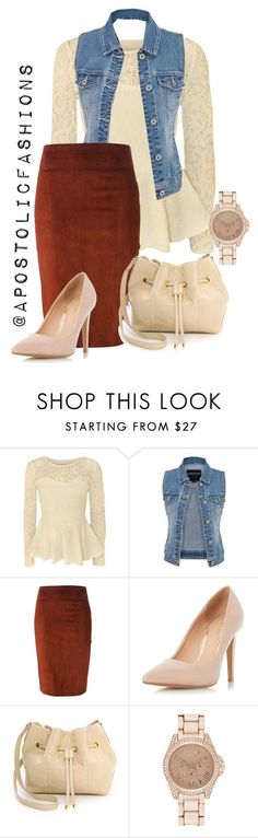 """Apostolic Fashions #1343"" by apostolicfashions ❤️ liked on Polyvore featuring Papermoon, maurices, STOULS, Dorothy Perkins, Lauren Merkin and River Island"